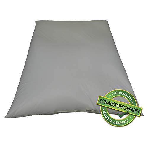 QSack Sitzsack Innenhülle mit EPS Mikroperlen, 400 Liter Sitzsack Füllung schadstoffgeprüft, EPS ohne HBCD, 130x170 cm, do it Yourself Sitzsack selber nähen (130 x 170 cm)