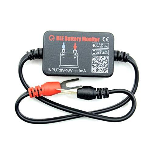 N/J Probador De Batería De Automóvil, Probador De Carga De Batería De 12 V Automotriz Inalámbrico Bluetooth Monitor De Analizador De Diagnóstico del Sistema De Carga para Todos
