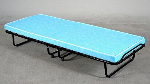 Avanti Trendstore – Cama para Invitados Plegable sobre Ruedas, Aprox. 80 x 190 cm.