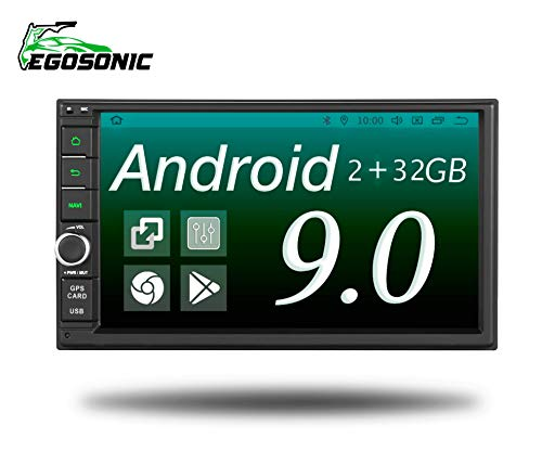Upgrade Android 9.0 Universal 2GB RAM 32GB ROM 7 Inch TFT LCD Double Din Indash DSP Car Stereo Radio Player Navigating WiFi 4G Head Units