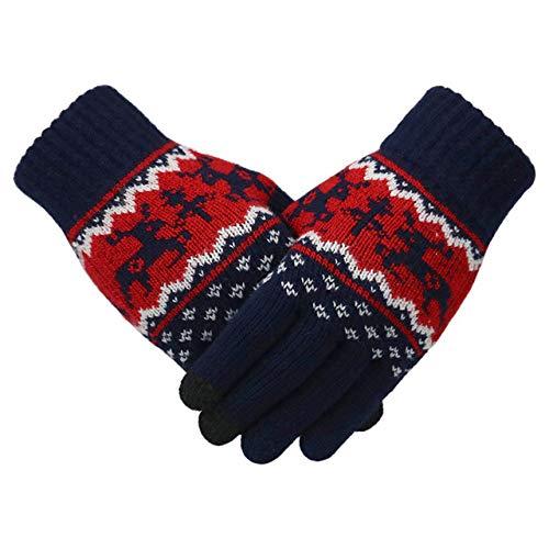 BRTTHYE Winter Handschoenen Kant Warm Touch Screen Waterdicht Dikke Warm Winter Vrouwelijke Handschoenen