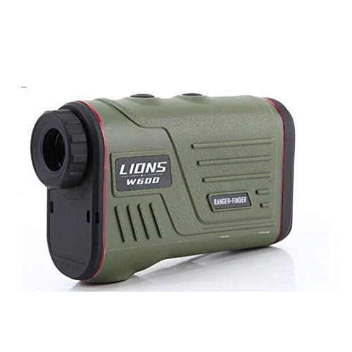 RENYAYA afstandsmeter, Golf Laser Range-Finder, gereedschap voor meting, 6-voudige vergroting, tot 600 meter, nauwkeurigheid +/- 1 meter, geschikt voor Miopia zonder bril