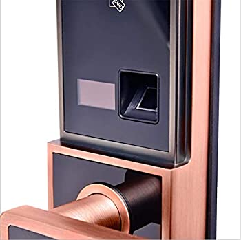 Cadenas d'empreinte digitale, serrure futée de mot de passe à la maison, serrure de mot de passe d'empreinte digitale antivol
