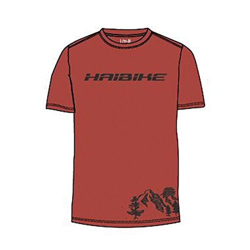 HAIBIKE 9505200990 T-Shirt Mixte Rouge XS