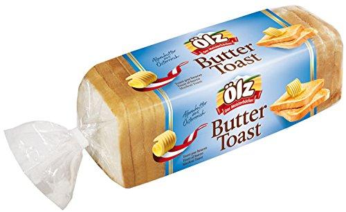 Ölz Buttertoast mit Alpenbutter aus Österreich - 500g - 2x