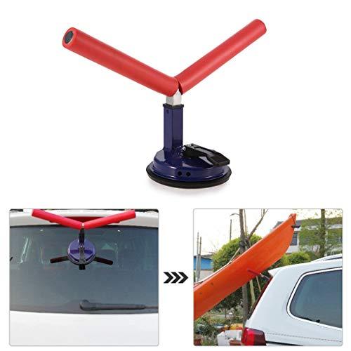 FEZBD Aluminium-Kajak-Kanu, Boots Pusher Saugnapfhalter, Rollenbelastung Absaug- Boot Assist für die Montage Kajaks und Kanus, um Auto-Tops