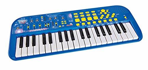 Simba 106834058 MMW Klaviatur, blau, 20 cm