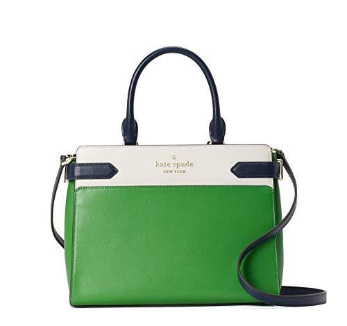 """made of saffiano leather removable and adjustable shoulder strap, wear crossbody, over the shoulder or carry by hand satchel with zip closure interior slide pockets, exterior front and back slip pockets 8.62""""H X 10.87""""W X 5""""D, drop: 22"""""""