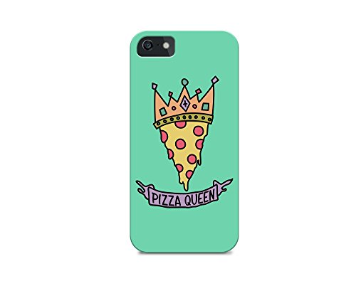 iPhone 6/iPhone 6S - Hard Plastic Case - Cover All Sides - Pizza Phone Case - Pizza - Pizza Quote - Pizza Queen - Quotes