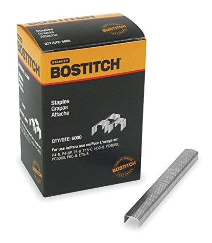 "Bostitch STCR50193/8-5M Power Crown Heavy Duty Staples (5000 Pack), 7/16"" x 3/8"""