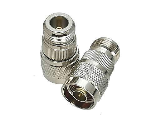 AIHONG 1 unids N a UHF SO239 PL259 / N/BNC/TNC/SMA Enchufe Masculino y Jack RF Conector Adaptador Coaxial Convertidor de Pruebas para TV vía satélite (Color : Type 7 1pcs)
