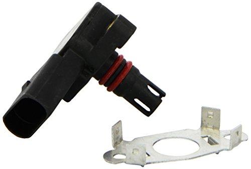HELLA 6PP 009 400-241 Sensor, Ladedruck, Anschlussanzahl 4, mit Dichtung, mit Klammer