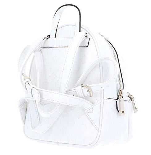 41VQnGwkwAL - Guess Logo Love Bradyn Backpack Ivory