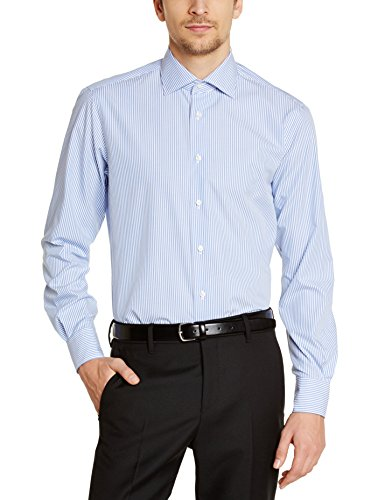 Tommy Hilfiger JAK SHTSTP99002 Chemise habillée, Bleu (415), X-Large (Taille Fabricant: 43) Homme^Homme