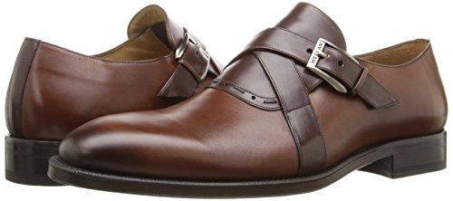 Mezlan Men's Badia Slip-On Loafer, Cognac/Brown, 11 UK/11 M US