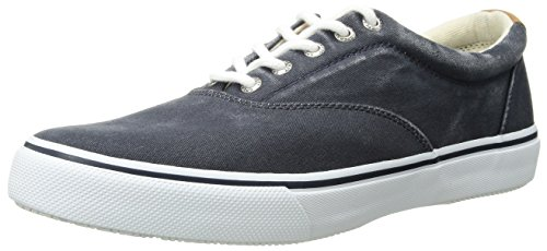 Sperry Mens Striper LL CVO Sneaker, Navy, 9