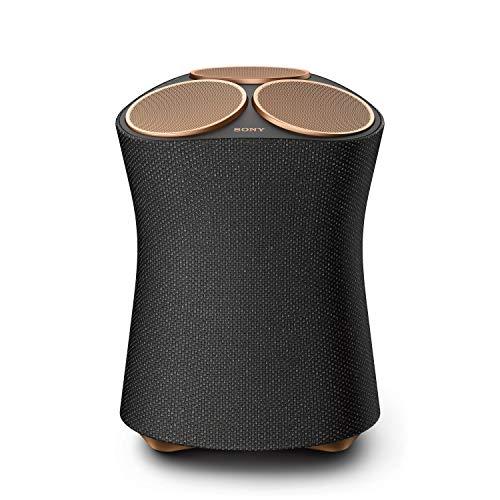 Sony SRS-RA5000 Bluetooth Premium Lautsprecher (7 Treibereinheiten für raumfüllenden Klang, 360 Reality Audio, Hi-Res Audio, Wi-Fi, kompatibel mit Alexa) Schwarz