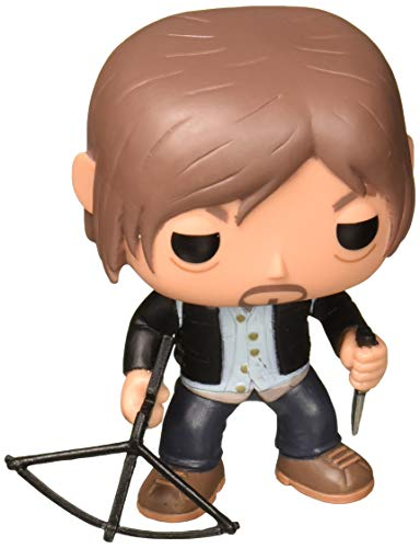 Funko Pop Television: The Walking Dead - Biker Daryl Vinyl Figure