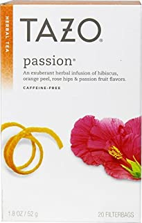 Tazo Herbal Tea Passion -- 20 Tea Bags - 2 pc