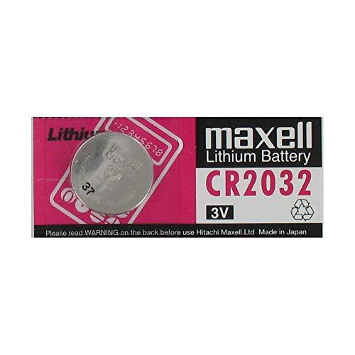 Pile Bouton Maxell CR2032 électronique Lithium 3v