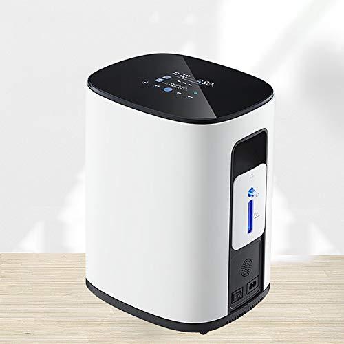 Cabina Home Tragbarer Sauerstoffkonzentrator Generator Unterstützung der doppelten Sauerstoffinhalation 1-7L/ min einstellbar Sauerstoffmaschine Arbeiten 48h für den Heimgebrauch 220V