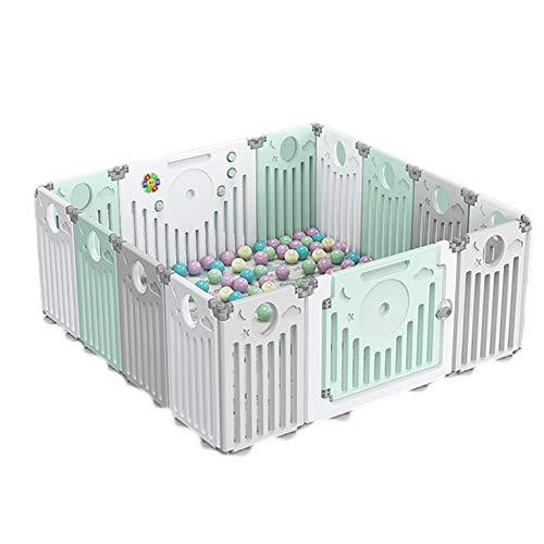 Lowest Price! Weilan NBgy Foldable Child Fence,Baby Playpen,Kids Activity Center Safety,Play Y...
