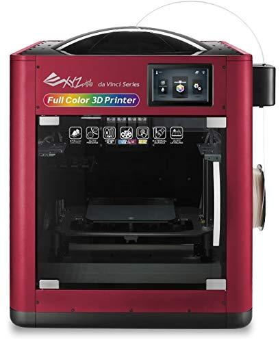 """da Vinci Color - Full Color/Monochrome Desktop 3D Printer-7.9""""x 7.9""""x 5.9"""" Built Size (3Dcolorjet Technology)- Color PLA/PLA/Tough PLA/PETG, Upgradable to print Metallic/Carbon PLA"""