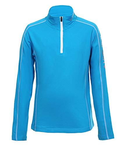 Icepeak Kinder Skipullover Funktionsshirt Thermoshirt Half Zip Robin Jr 4-51 712 584, Farbe:Blau, Größe:140, Artikel:-335 Turquoise