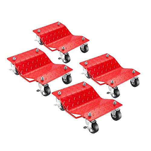 5051 Pentagon Tool | Premium 4-Pack | Car Tire Dolly - Tire Skates