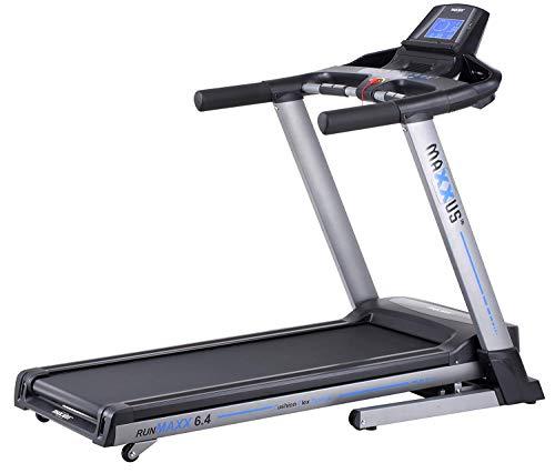Laufband MAXXUS RunMaxx 6.4 Klappbar - Kompakte Treadmill Mit Klappbarer Lauffläche Und Dämpfungssystem - 18km/h, 12{8d49bb6a8faff761ee2892dca49047ffa2799ef3be0b906de7ad02b887cd5ac5} Steigung - Starker 2,25/5,6 PS DC-Motor - Große Lauffläche Für Sicheres Training