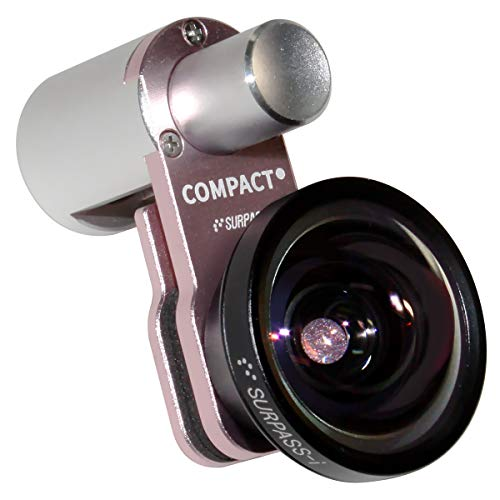 [SURPASS-i] Compact 0.65x Wide Angle Lens for iPhone Series (Pink)