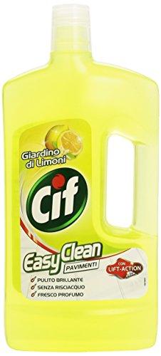 Cif Detergente Easy Clean per Pavimenti Giardino di Limoni - 1 Litro