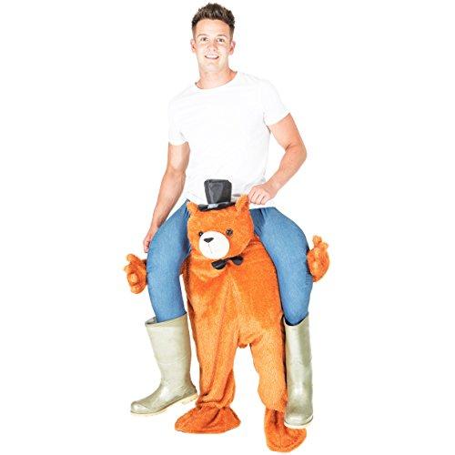 Bodysocks® Bären Huckepack (Carry Me) Kostüm für Erwachsene
