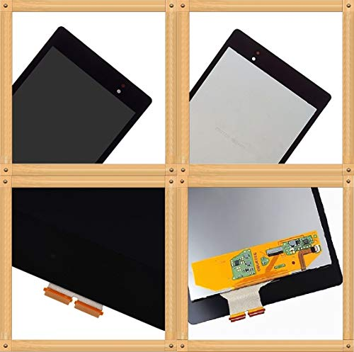 XR MARKET Compatible Asus Google Nexus 7 Screen Replacement, LCD Display Touch Screen Digitizer Assembly, for 2nd Gen 2013 Ver ME571K ME571KL(NOT for Nexus 7 2012) +Adhesive+Tools(Black NO Frame)