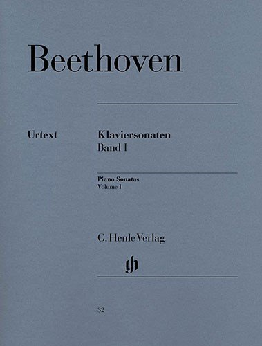Beethoven: Piano Sonatas - Volume 1 (Henle Urtext Edition) - Partitions