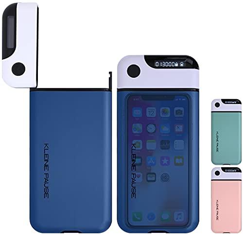 kleine Pause ® (Blau) Handy-Timer-Box | Kontrolle über Smartphone Ablenkung bei Homeoffice Hausaufgaben Einschlafen | Konzentration durch Digital Detox| iPhone, Samsung, Huawei Kompatibel