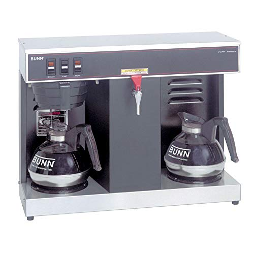 BUNN VLPF, 12-Cup Automatic Commercial Coffee Maker, 2 Warmers, 07400.0005