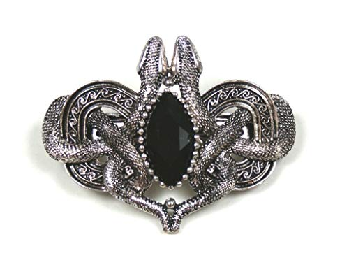 ReStyle Clothing Celtic SNAKES OF AVALON Hair Barrette Pewter by Restyle