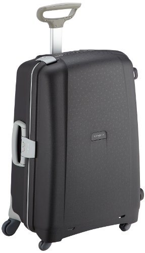 Samsonite Aeris Spinner M Suitcase Luggage, 68 cm, 64.5 Litre, Black (Black)