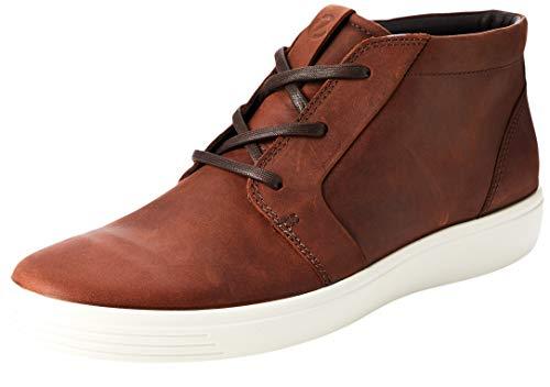 ECCO Herren Soft 7 M Hohe Sneaker, Braun (Brandy 2280), 42 EU