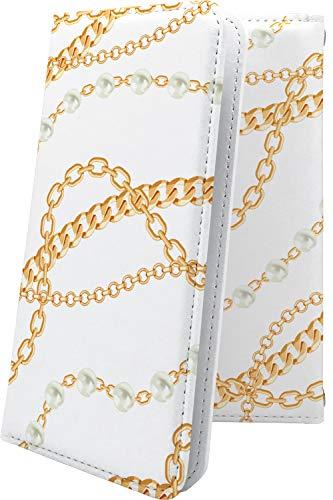 スマートフォンケース・GRANBEAT DP-CMX1(B)・互換 ケース 手帳型 ロゴ ワンポイント ロゴ入り ゴールド 金 高価 金持ち ビッグ チェーン グランビート オンキョー オンキョウ かっこいい dpcmx1 dp-cmx1 cmx1 おしゃれ [pB795976uio]