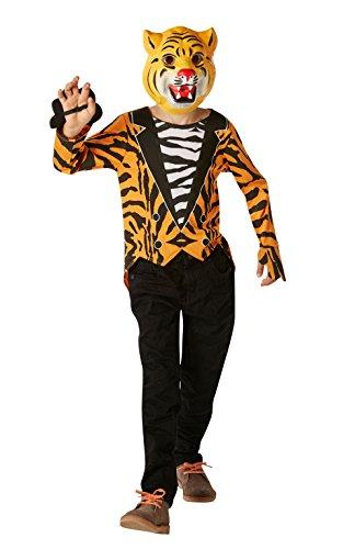 Rubie's officiële Tijger die kwam naar thee Fancy jurk jongens dierentuin wereld boek dag kinderen kostuum