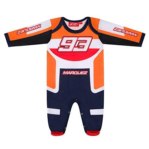 Marc Marquez 2020 93 - Camiseta para bebé y niño, Mono Repsol Honda 93, Baby Age 3-6 Months