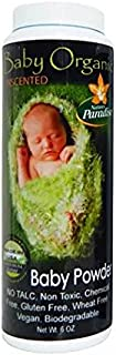 Nature's Paradise Baby Powder Organic Unscented 5.5 Ounce