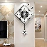 Nuanxin Elegante orologio da parete al quarzo con elegante...