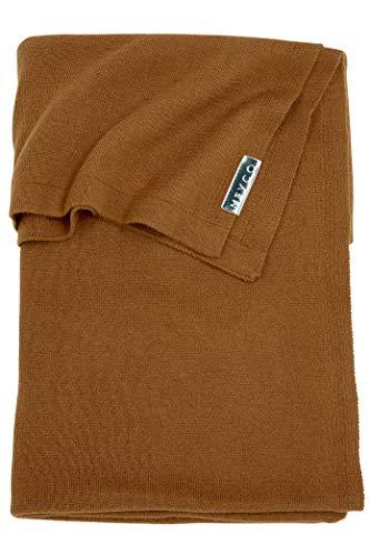 Meyco 2753007 Ledikantdeken knit basic, 100x150 cm, camel