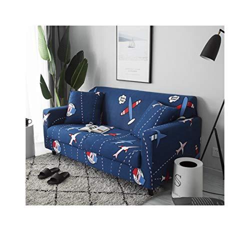 WUFANGFF Slipcover Modello di Aeroplano del Fumetto Divano Divano Fodera Divano Copridivano Sofa Furniture Protector