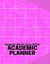 """August 2019 / July 2020 Academic Planner: Simple Easy To Use August 2019 to July 2020 Academic Daily Weekly Monthly and Year Calendar Planner Organizer and Lesson Record Book Log 8.5""""x11"""" 120 pages."""