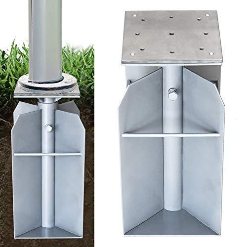 EliteShade 26 lbs In-ground Umbrella Base Stand Umbrella Holder for Offset Hanging Cantilever Umbrella Patio Outdoor Umbrella