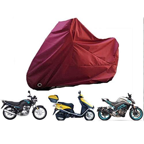 M-YN Vélo Housse étanche extérieur Vélo Couverture Thicken Oxford UV Coupe-Vent Neige Antirouille avec Serrure Trou Sac de Rangement for Le Chemin Mountain Bike City Bike (Color : Silver)
